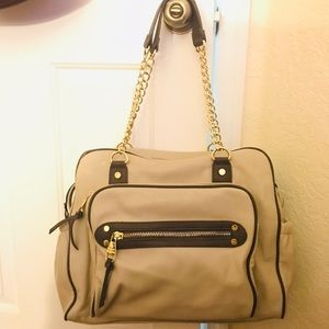 Steve Madden large purse tan purse excellent